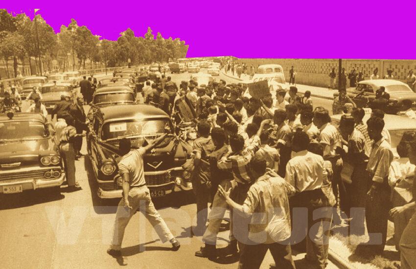 #VTalPasado Cuando el pueblo venezolano rechazó la presencia de Nixon en suelo de Bolívar