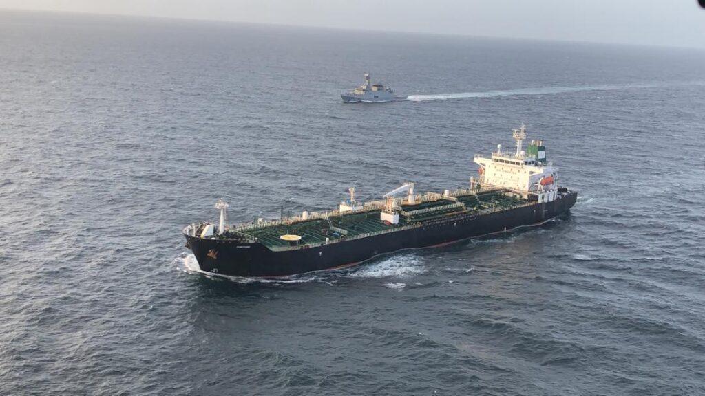 #VTbreaking: Petrolero iraní Fortune se dirige hacia refinería del centro norte venezolano