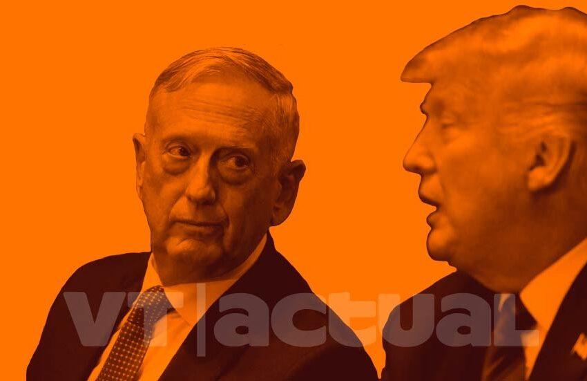 Ex Jefe del Pentágono aviva la mecha y acusa a Trump de abuso de autoridad