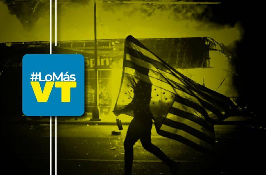 #LoMásVT: La semana en que Venezuela vence obstáculos mientras EE.UU. ve arder sus calles