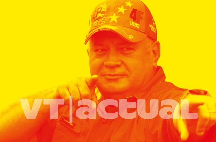 Así expresan los venezolanos su solidaridad con Diosdado Cabello