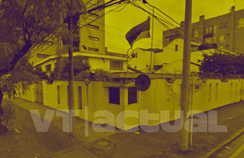 Así se vandalizó el Consulado de Venezuela en Bogotá