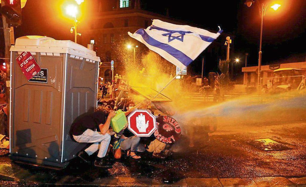 El Coronavirus en Israel ha retornado las protestas