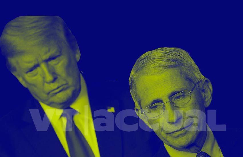 Fauci desmiente los ilógicos datos de #DonaldTrump sobre el Covid-19