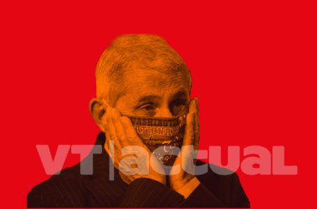 Anthony Fauci recibe amenazas por su posición en torno al coronavirus en EE.UU. / Foto: VTactual