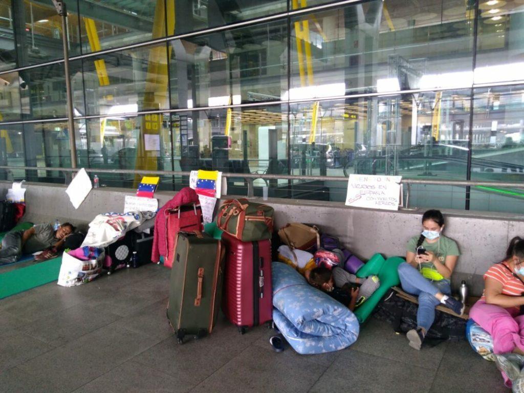 Repatriados desde España cumpliran la cuarentena en Venezuela