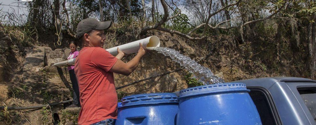 agua reto pandémico