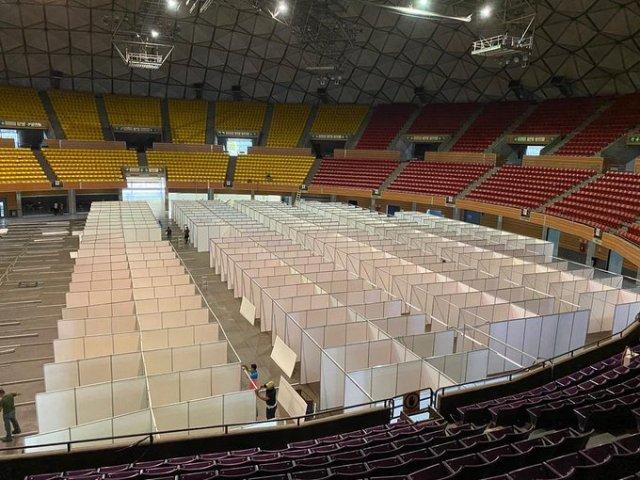 Poliedro de Caracas atenderá a 1.200 pacientes de Coronavirus