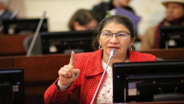 senadora FARC