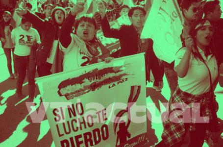 Así está el pueblo boliviano en las calles: exigen elecciones en Bolivia