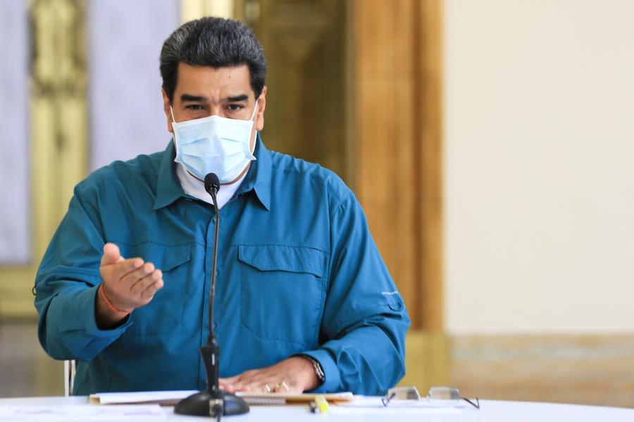 Presidente Maduro dio detalles de lucha contra coronavirus