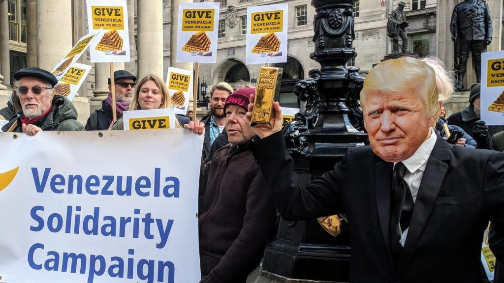 Una campaña en Reino Unido busca presionar la devolución del oro a Venezuela