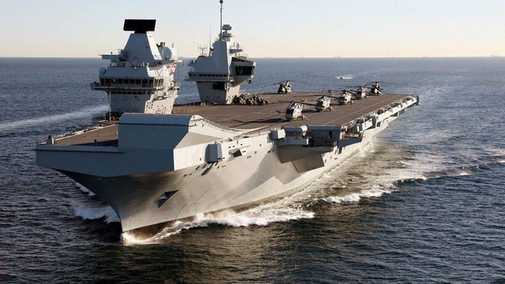 Despliegue británico en el Pacífico recibe el repudio de China