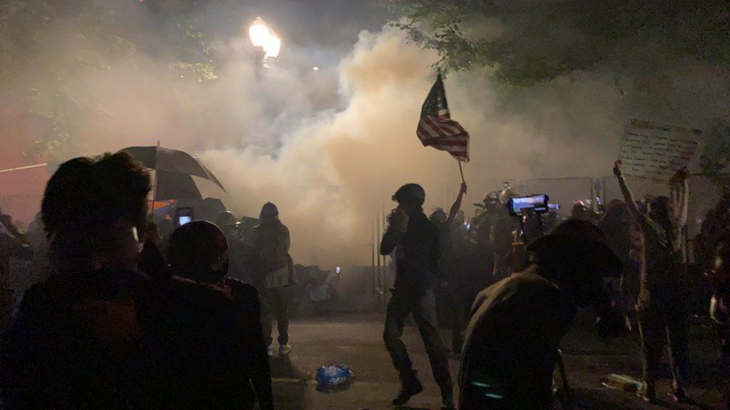 """El izquierdismo de Portland encara el """"pinochetismo"""" de #DonaldTrump"""