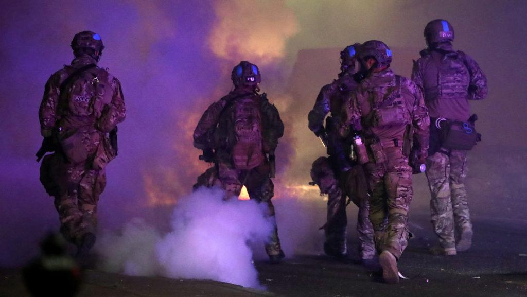 La represión en Portland captura la atención de la ONU
