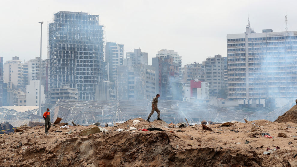 La explosión pudo ser un ataque terrorista en Beirut