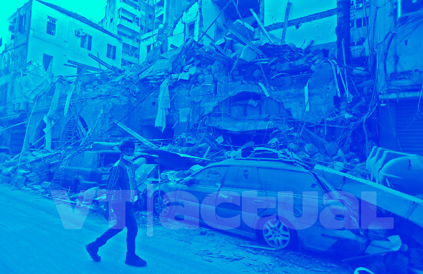 emergencia en Beirut