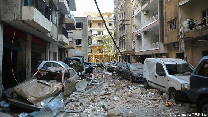 La ciudad del Libano amaneció siendo zona catastrófica