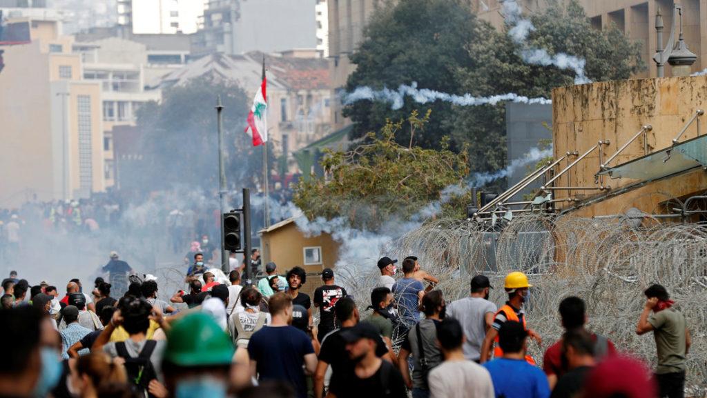 Protestas encienden crisis política en el Líbano