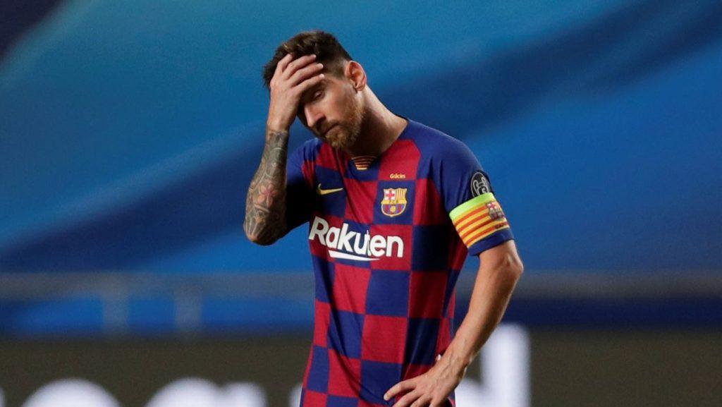 Tiembla el Barcelona Messi
