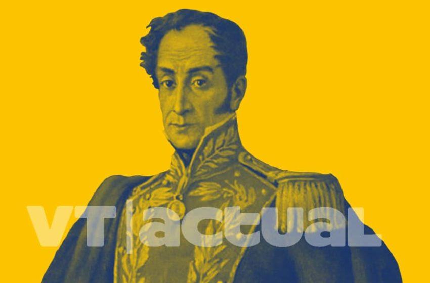 #VTactualAlPasado Simón Bolívar y su incansable lucha por la libertad