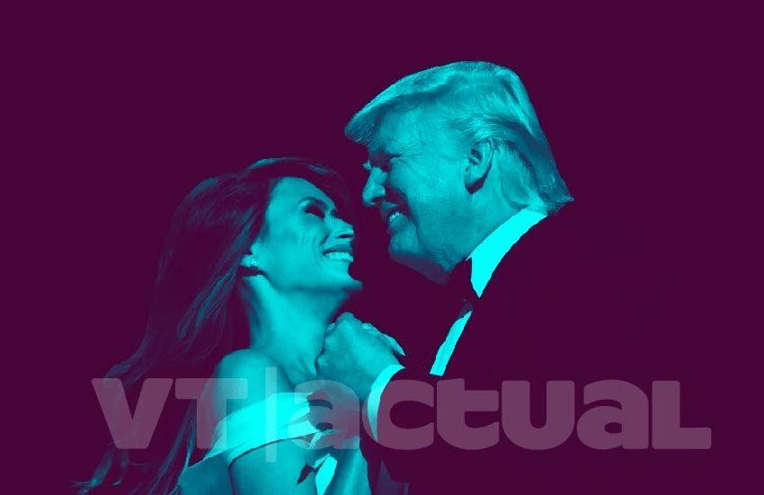 La de Melania y Donald Trump no es una historia de amor