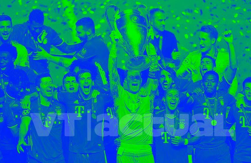 #VTactualEnLaJugada Bayern Munich, fútbol total