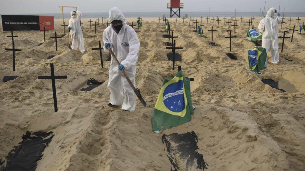 Latinoamérica superó la barrera de los 200 mil decesos por Covid-19