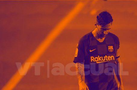 #Los7deJunior Razones de Messi para irse de Barcelona