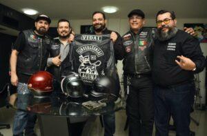 motociclistas en México