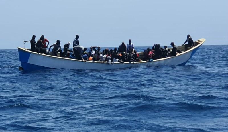 afluencia de migrantes