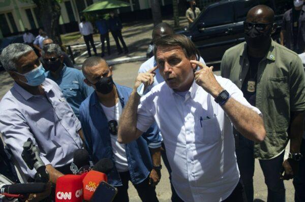 Bolsonaro alega fraude