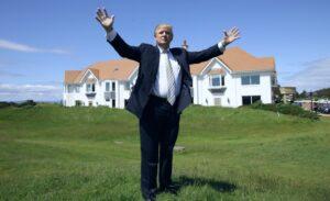 Ex presidente Trump