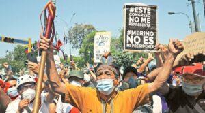 crisis presidencial en Peru