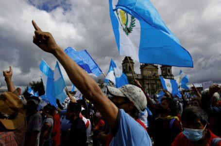 La CIDH rechaza la «fuerza excesiva» por las protestas en Guatemala