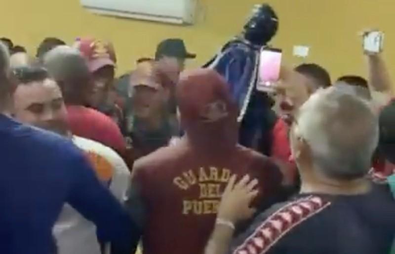 """""""coronaparty"""" en Venezuela"""