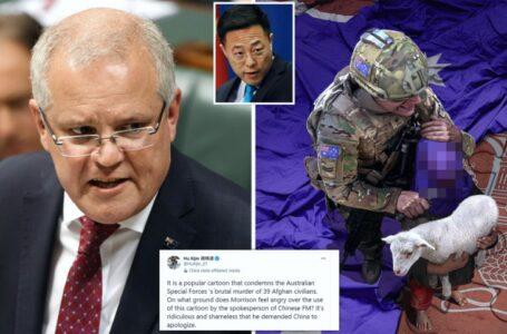 China y Australia: Cómo una riña en Twitter se intensificó rápidamente