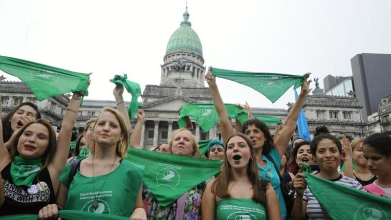 Proyecto de ley para legalizar el aborto en Argentina con resultado incierto