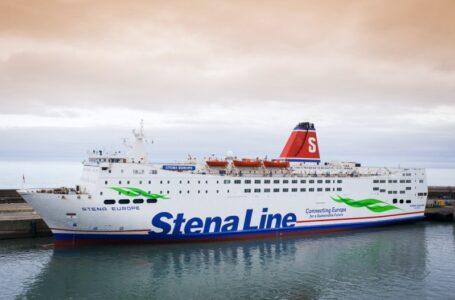 Nuevo ferry de Stena Line en Belfast se traslada a Rosslare