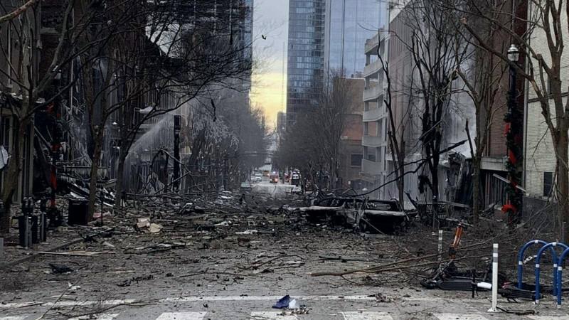 explosión de Nashville