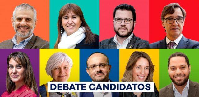 Dimes y diretes en catalán. Elecciones en Catalunya 2021