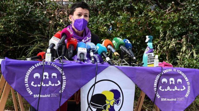 Feministas se hicieron sentir en España