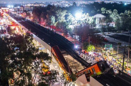 Al menos 23 muertos y decenas de heridos tras el derrumbe de un paso elevado en el metro de Ciudad de México