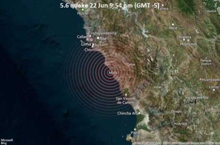 Un fuerte terremoto sacude la capital de Perú