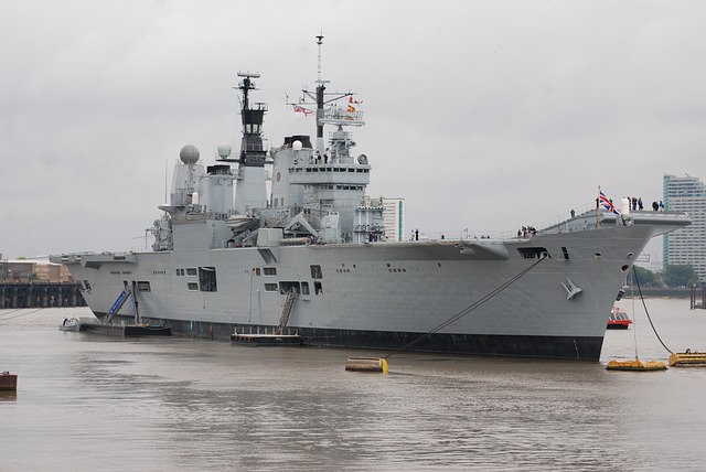 El Grupo de Ataque de Portaaviones del Reino Unido llega a la región del Océano Índico