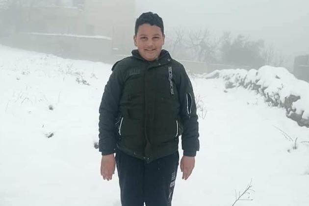 Un niño palestino de 12 años ha muerto por disparos de soldados del ejército israelí en Cisjordania