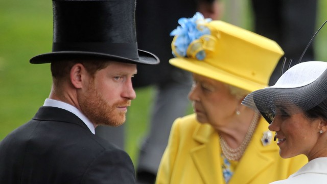 Meghan Markle y el príncipe Harry se pronuncian y emiten declaraciones