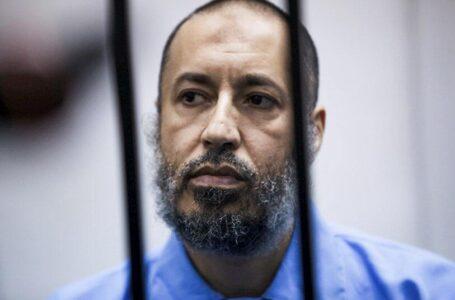 El hijo del ex líder libio Muamar Gadafi sale de la cárcel