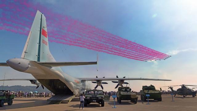 China mostrará su destreza militar en la feria aérea de Zhuhai